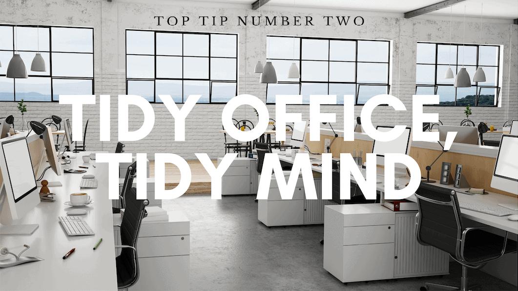 tidy office tips
