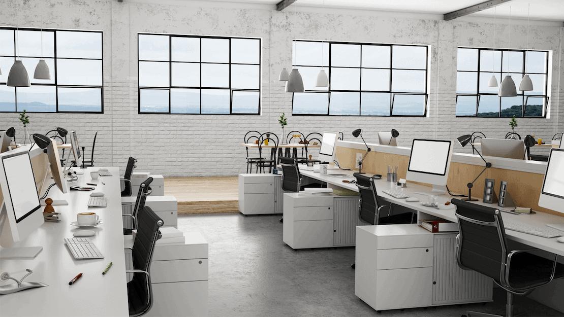 clean office windows