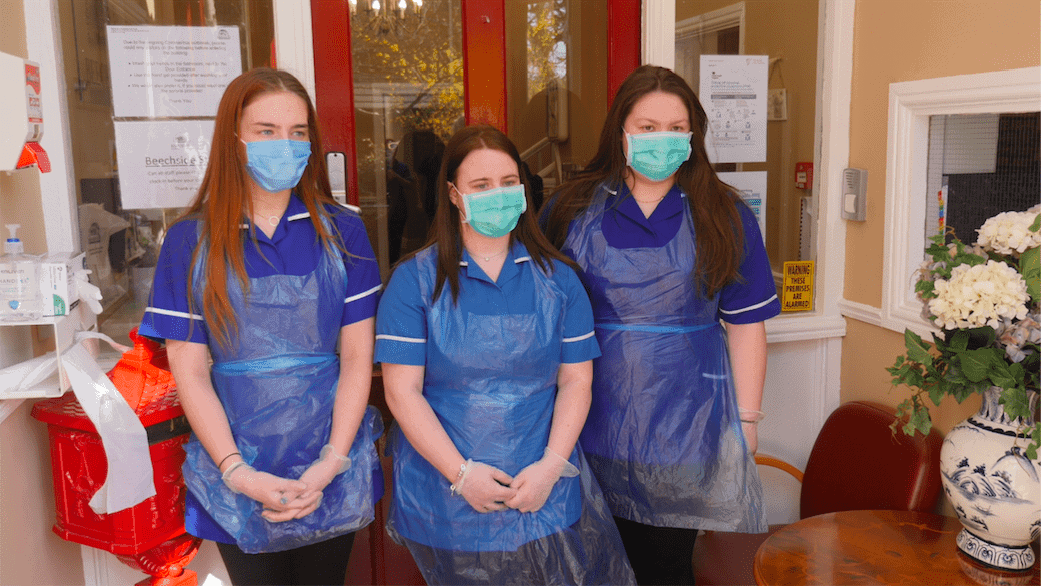 care home staff