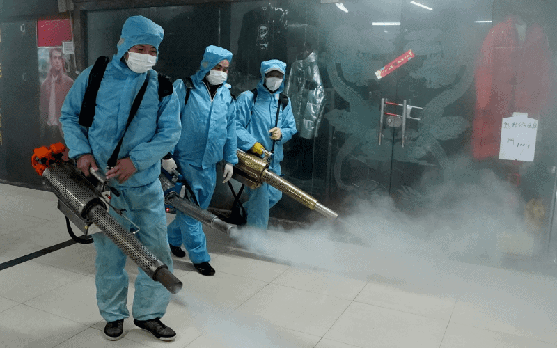 wuhan disinfection